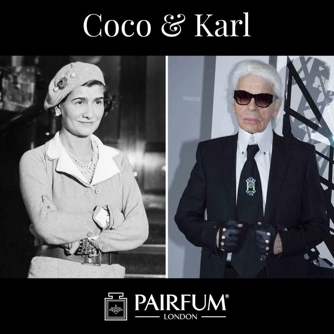 Pairfum Karl Lagerfeld Coco Chanel Fashion Fragrance