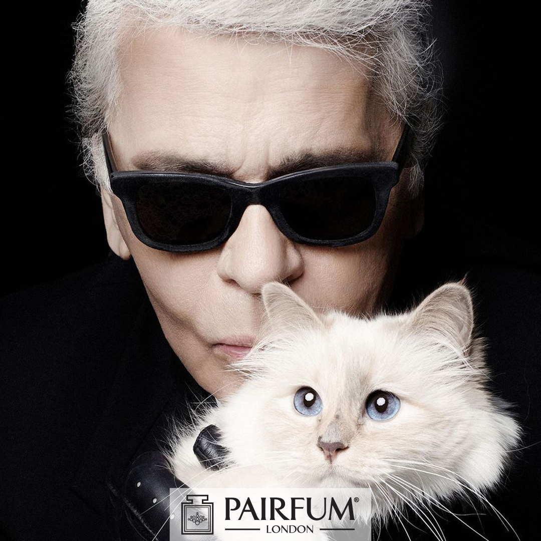 Pairfum Karl Lagerfeld Fashion Perfume Cat Choupette