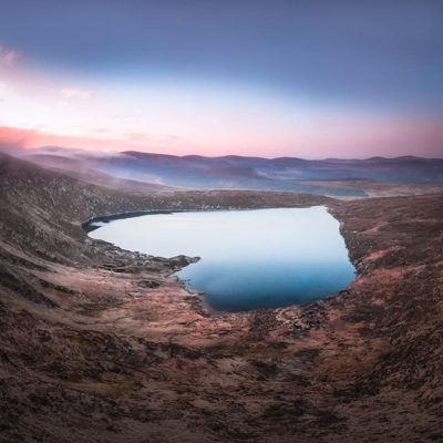 Happy Valentine's Day The Heart Shaped Lake In Co Wicklow Ireland