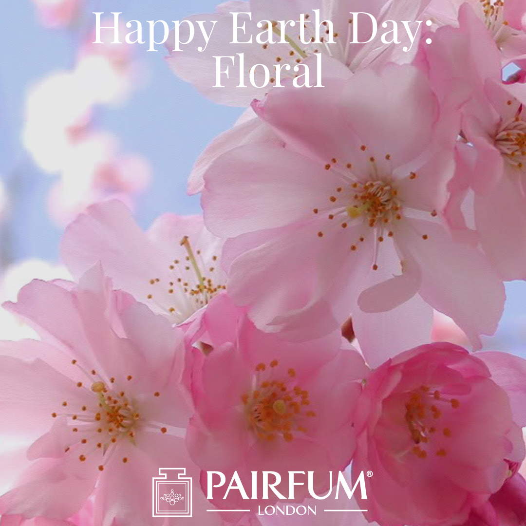 Happy Earth Day CherryBlossom Floral Perfume