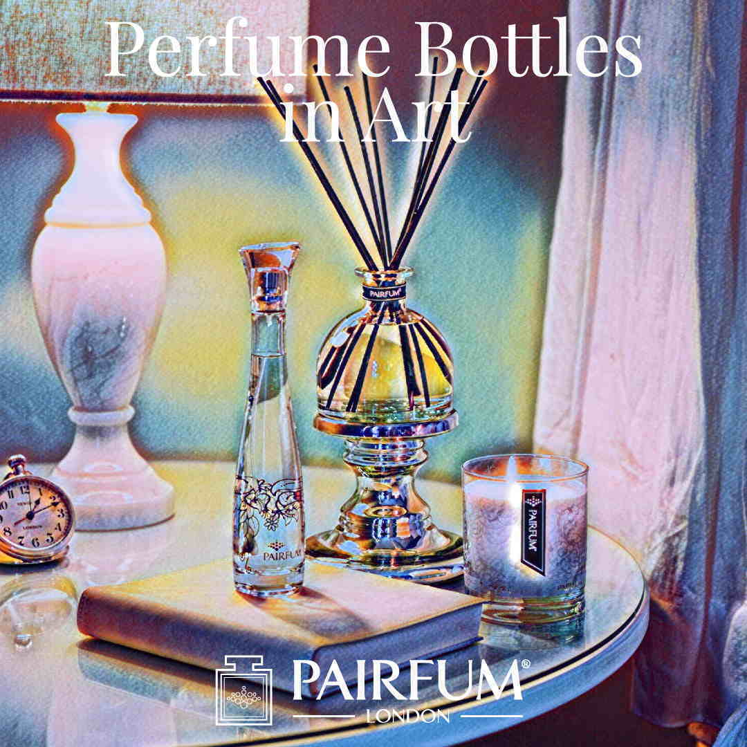 Pairfum London Perfume Bottles In Art