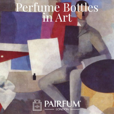 Pairfum London Roger De La Fresnaye Seated Man 1914 Perfume Bottles in Art