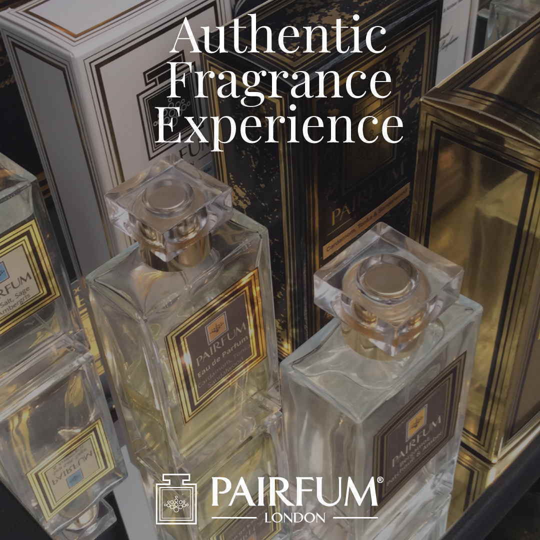Authentic Fragrance Experience PAIRFUM London's Niche Eau de Parfums Spray