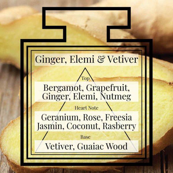 Pairfum Fragrance Ginger Elemi Vetiver Triangle