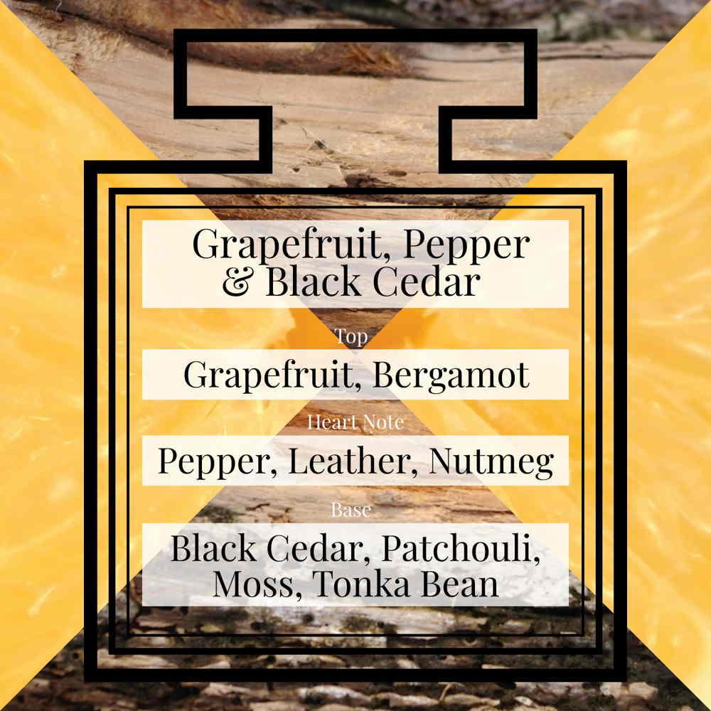 Pairfum Fragrance Grapefruit Pepper Black Cedar Triangle