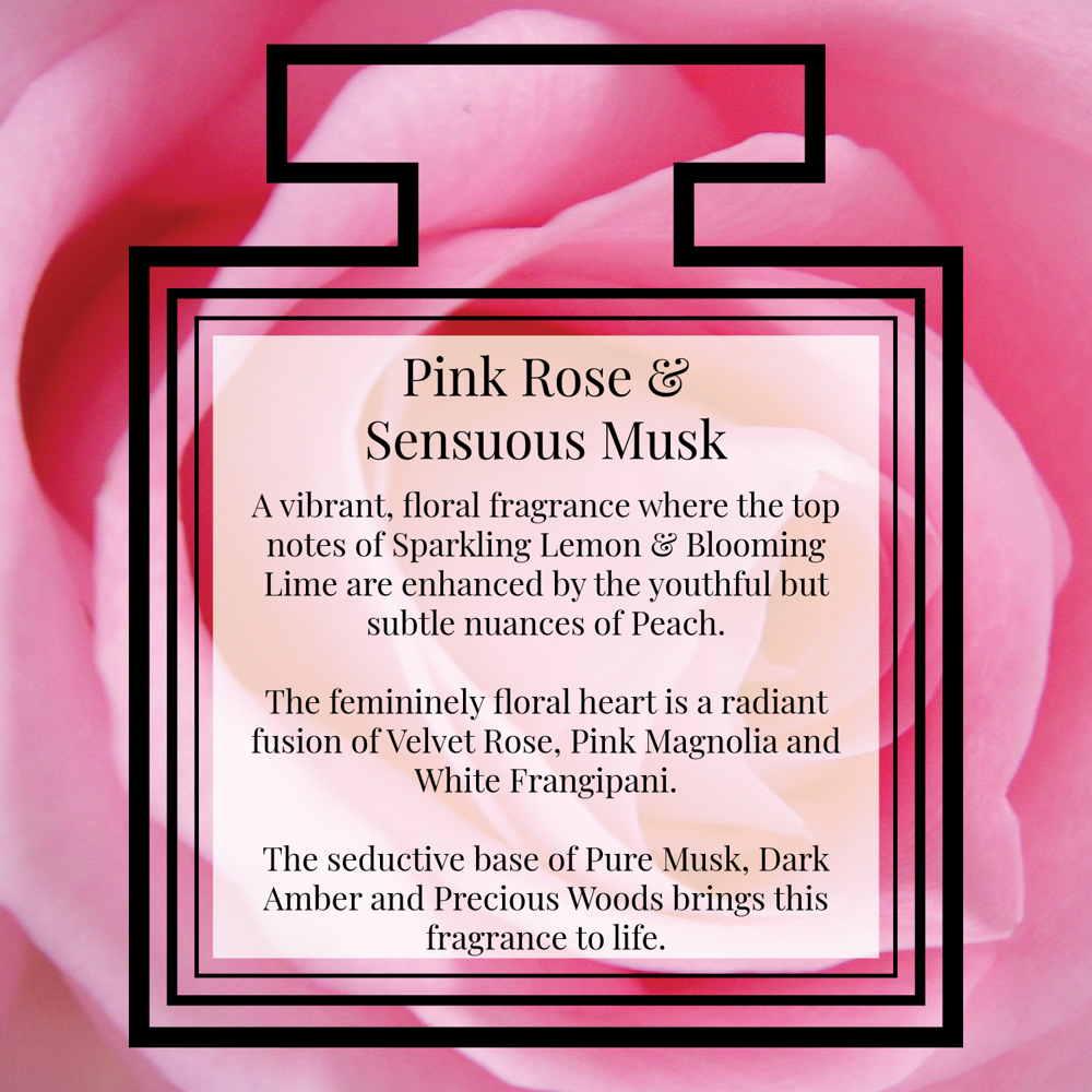 Pairfum Fragrance Pink Rose Sensuous Musk Description