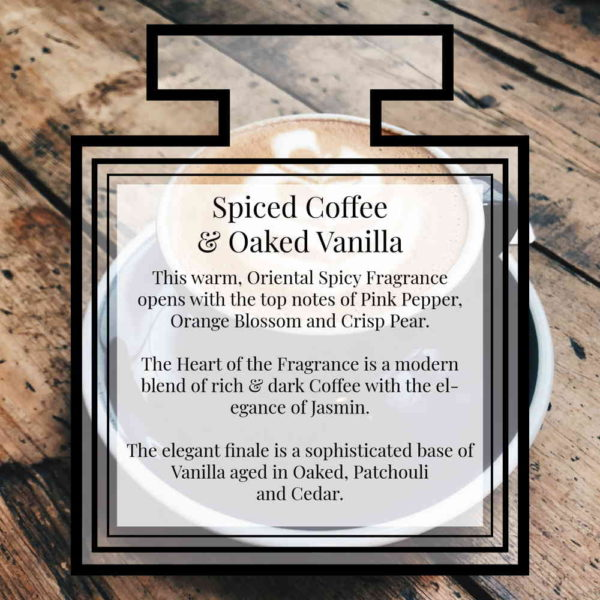 Pairfum Fragrance Spiced Coffee Oaked Vanilla Description