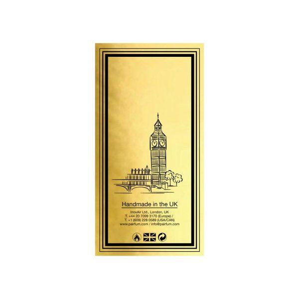 Pairfum Eau De Parfum Intense Carton Gold Back