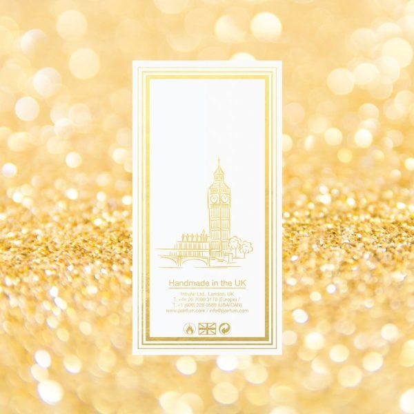 Pairfum Eau De Parfum Intense Carton Pure Back Goldgrain