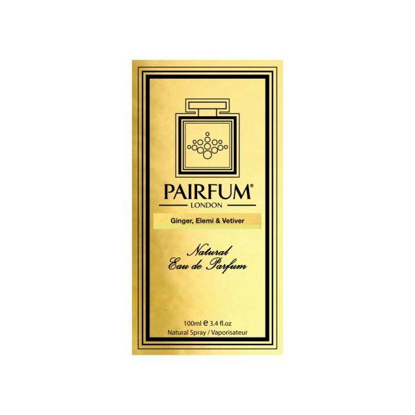 Pairfum Eau De Parfum Intense Ginger Elemi Vetiver Carton