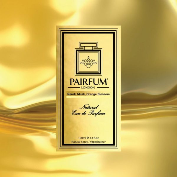 Pairfum Eau De Parfum Intense Neroli Musk Orange Blossom Carton Liquid Gold