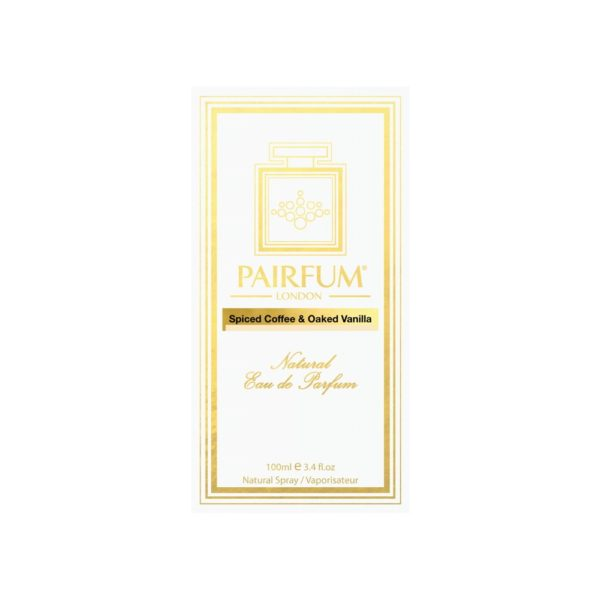 Pairfum Eau De Parfum Intense Spiced Coffee Oaked Vanilla Carton