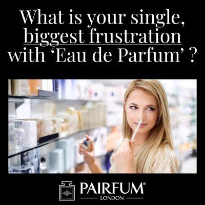 Eau De Parfum Biggest Single Frustration Woman Evaluate