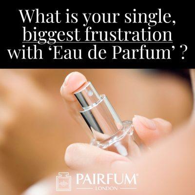 Eau De Parfum Biggest Single Frustration Woman Neck