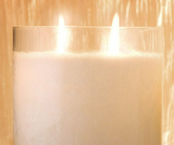 Pairfum Snow Crystal Candle Two Wicks Jpg