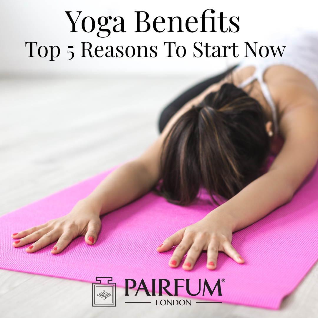 Yoga Benefits Mat Woman Pose Stress Anxiety