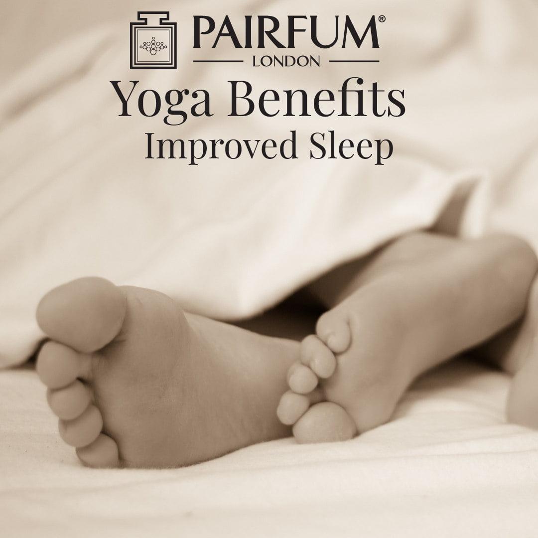 Yoga Benefits Sleep Feet Adult Child Bed Health Improve