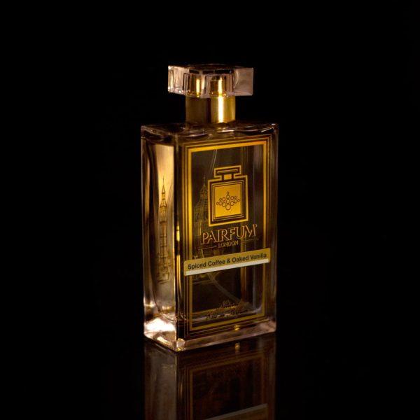 Eau De Pairfum Spiced Coffee Oaked Vanilla Bottle