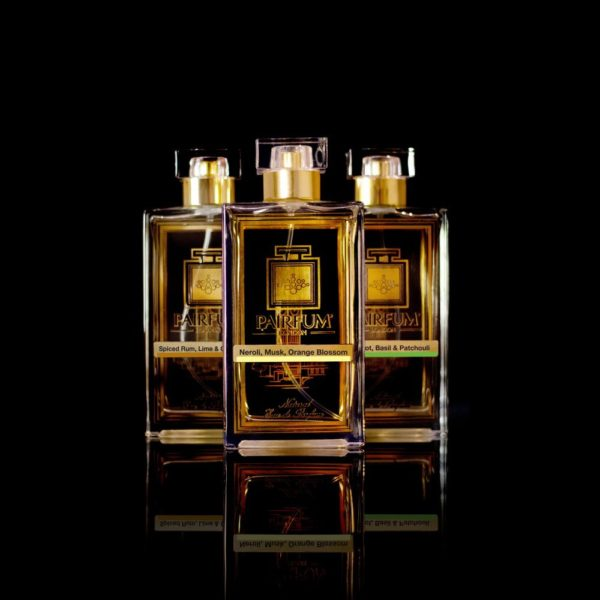 Eau De Parfum Gold Three Pairfum Neroli Musk Orange Blossom