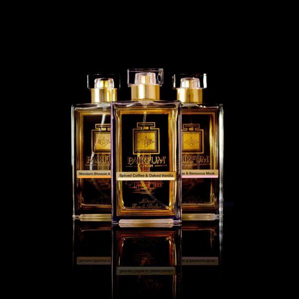 Eau De Parfum Pure Three Pairfum Spiced Coffee Oaked Vanilla