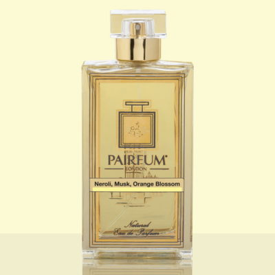 Gold Eau De Parfum Bottle Neroli Musk Orange Blossom