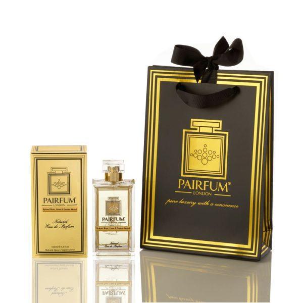 Pairfum Eau De Parfum Gold Giftbag Spiced Rum Lime Guaiac Wood