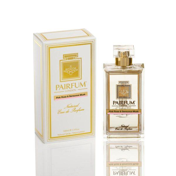 Pairfum Eau De Parfum Pure Bottle Carton Pink Rose Sensuous Musk