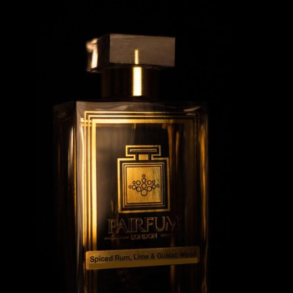 Pairfum Eau De Parfum Spiced Rum Lime Guaiac Wood Side