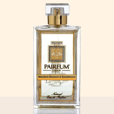 Pure Eau De Parfum Bottle Mandarin Blossom Sandalwood