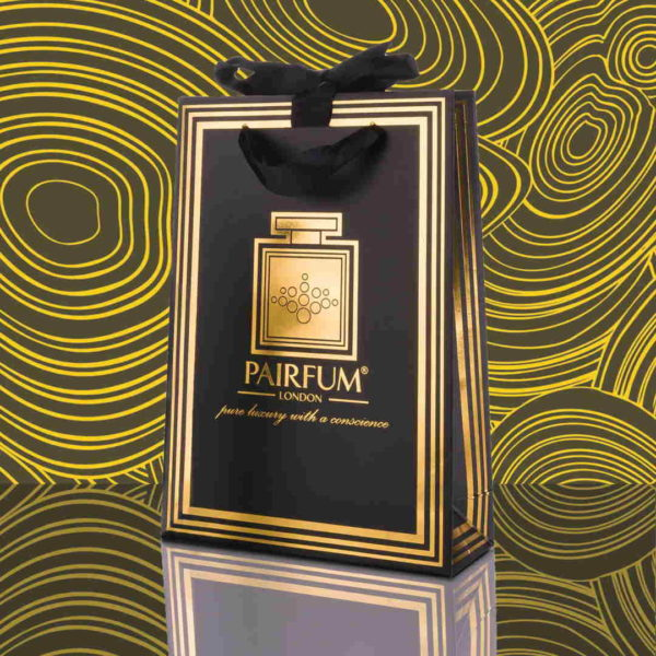 Pairfum Gold Black Luxury Carrier Bag Gift Small Fluid