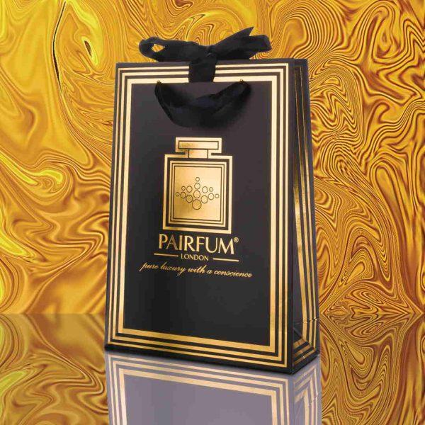 Pairfum Gold Black Luxury Carrier Bag Gift Small Liquid