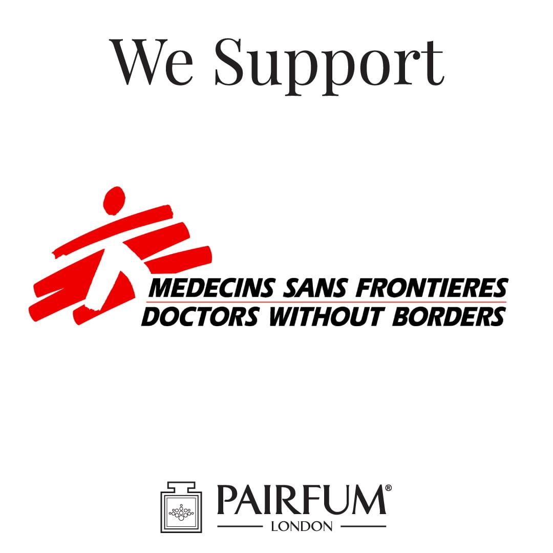 Doctors Without Borders Pairfum London Donates