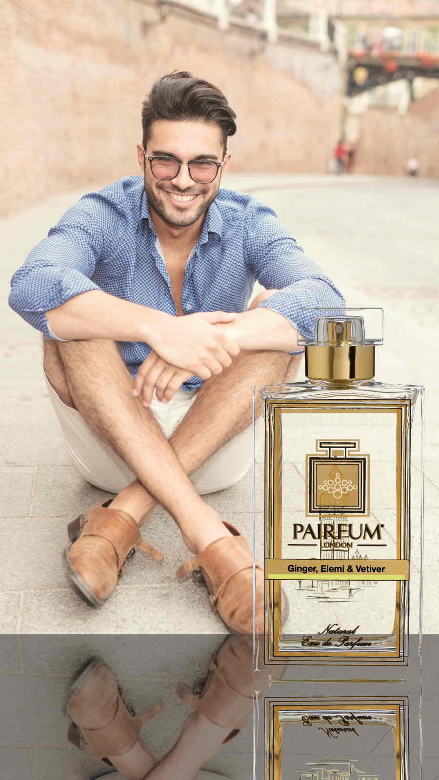 Eau De Parfum Person Reflection Ginger Elemi Vetiver Man Smile 9 16