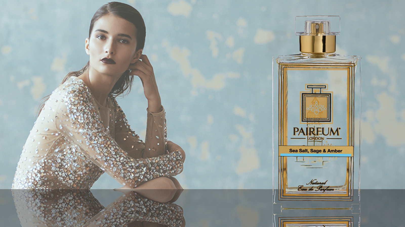 Eau De Parfum Person Reflection Sea Salt Sage Amber 16 9