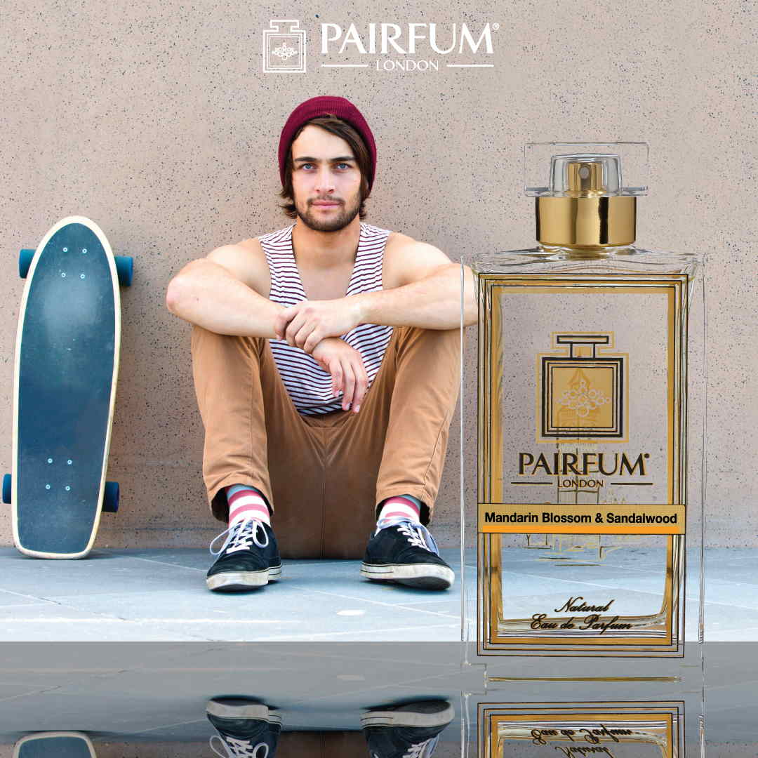 Pairfum Eau De Parfum Person Reflection Mandarin Blossom Sandalwood Scateboard 1 1