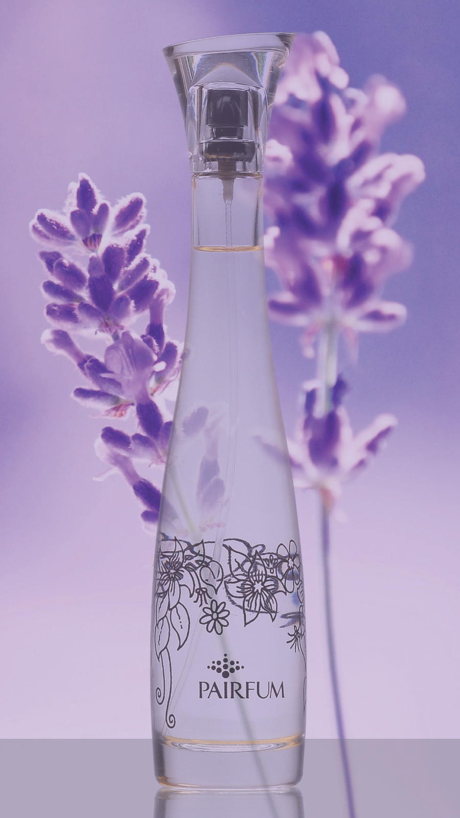 Flacon Room Perfume Spray Lavender Flower 9 16