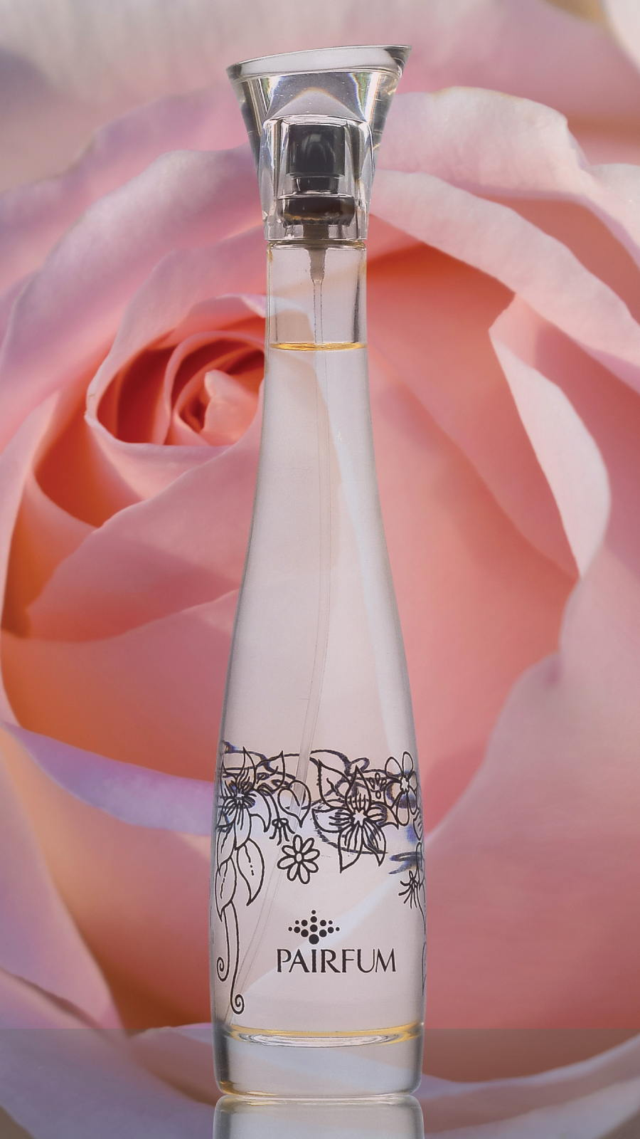 Flacon Room Perfume Spray Rose Pink Flower 9 16
