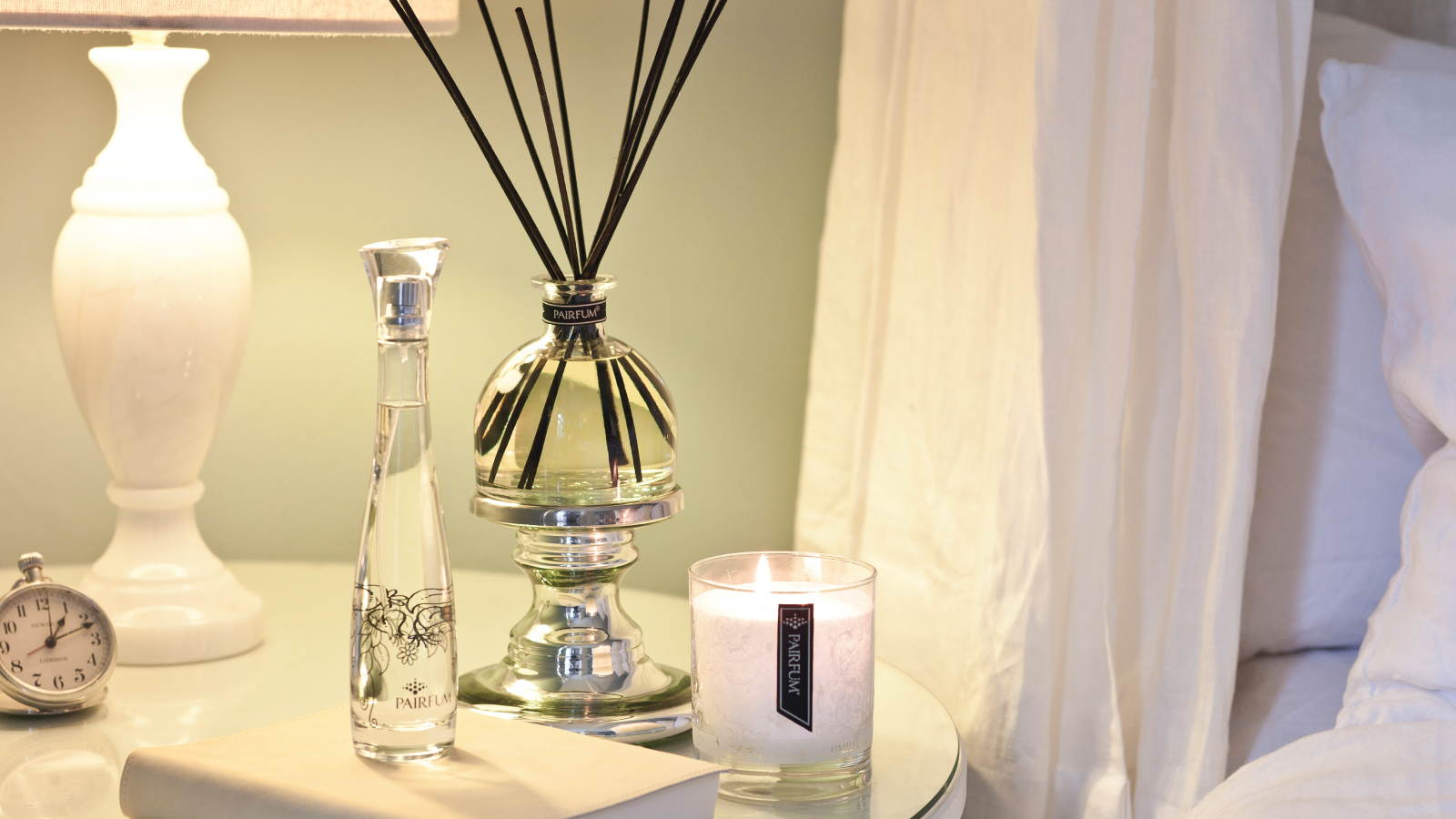 Lifestyle Bedroom Reed Diffuser Room Spray Perfume Candle 16 9