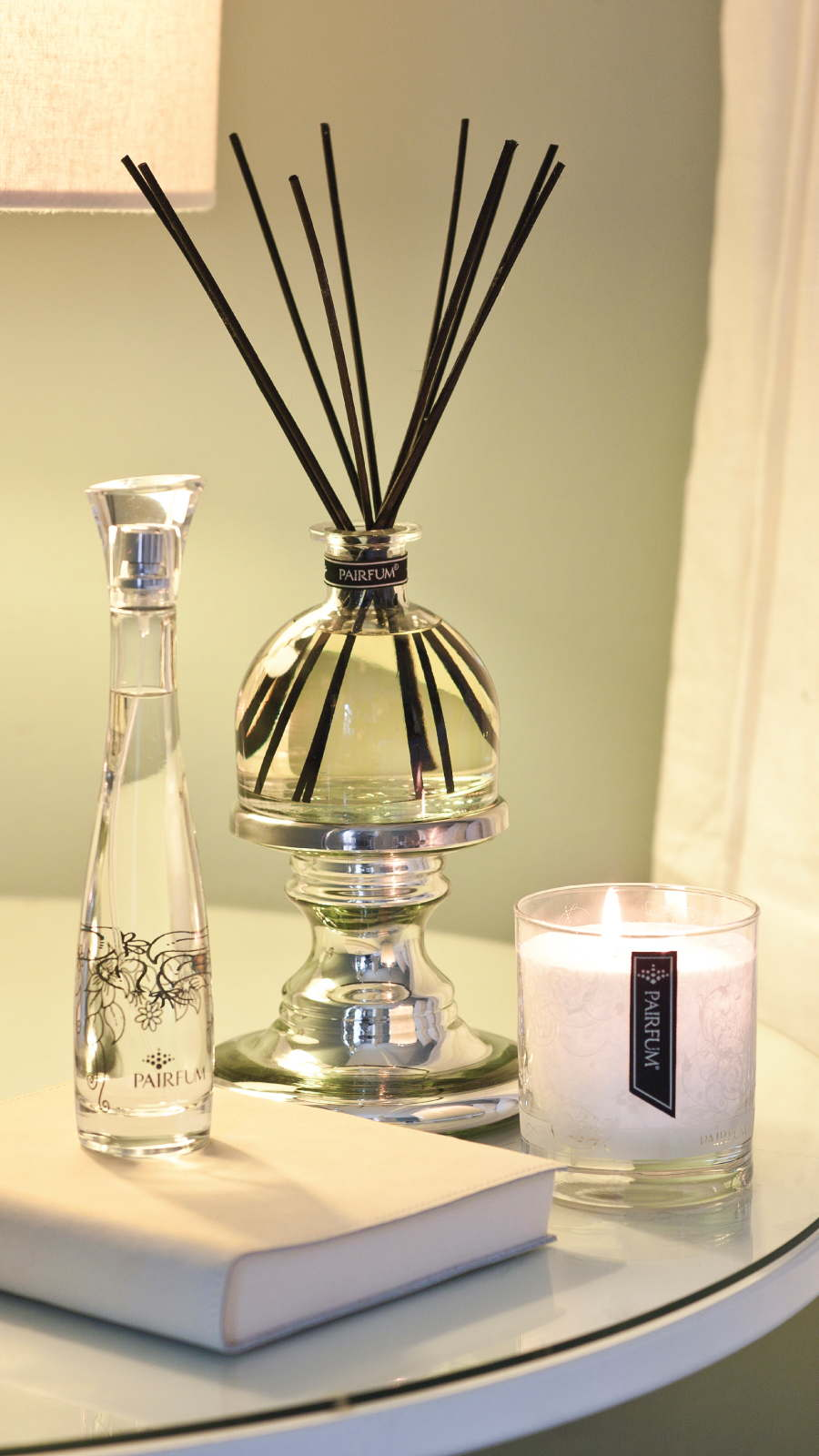 Lifestyle Bedroom Reed Diffuser Room Spray Perfume Candle 9 16