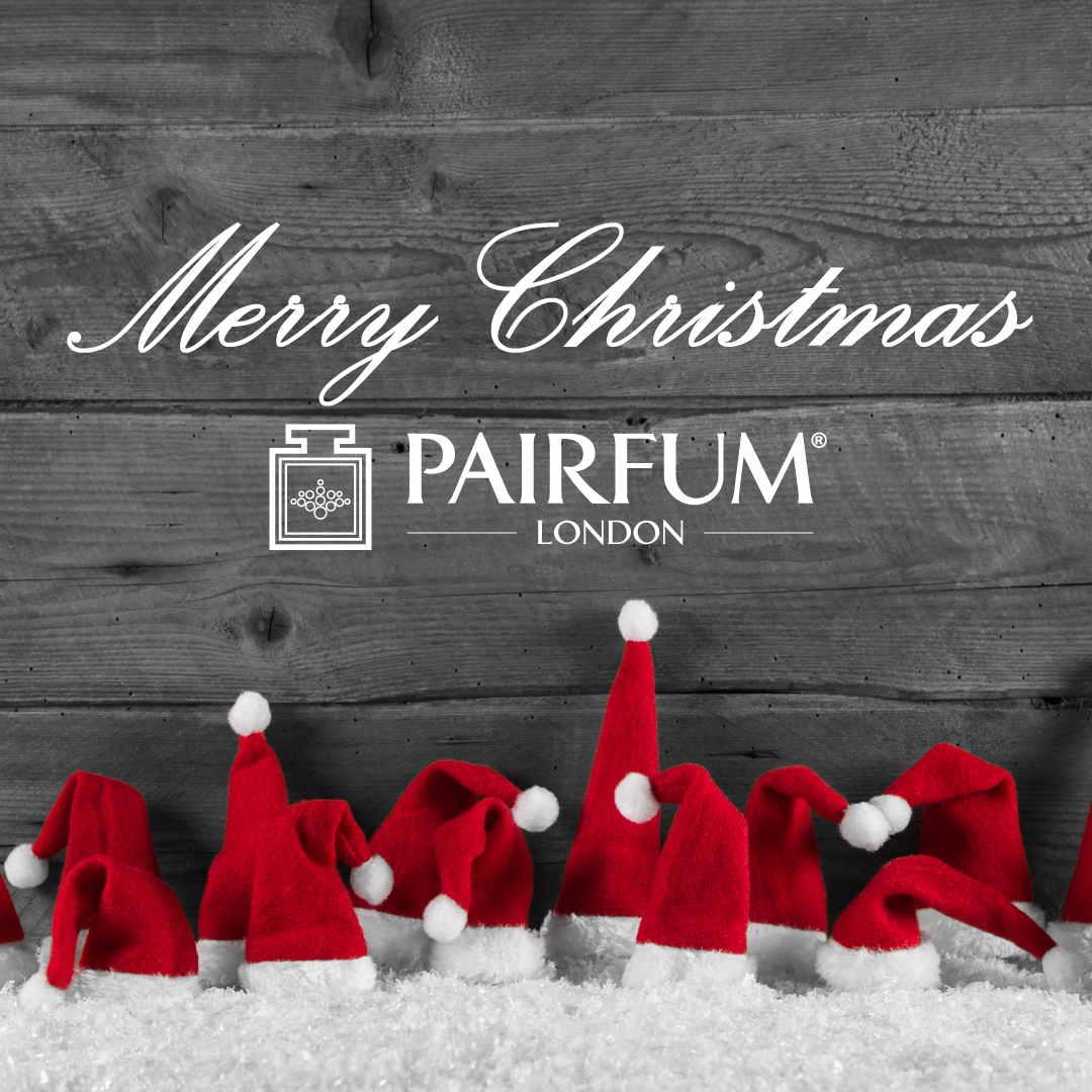 Merry Christmas 2020 Pairfum London Santa Hats