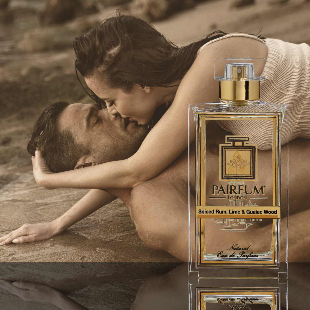 Eau De Parfum Person Reflection Spiced Rum Lime Guaiac Wood Couple Kiss 1 1