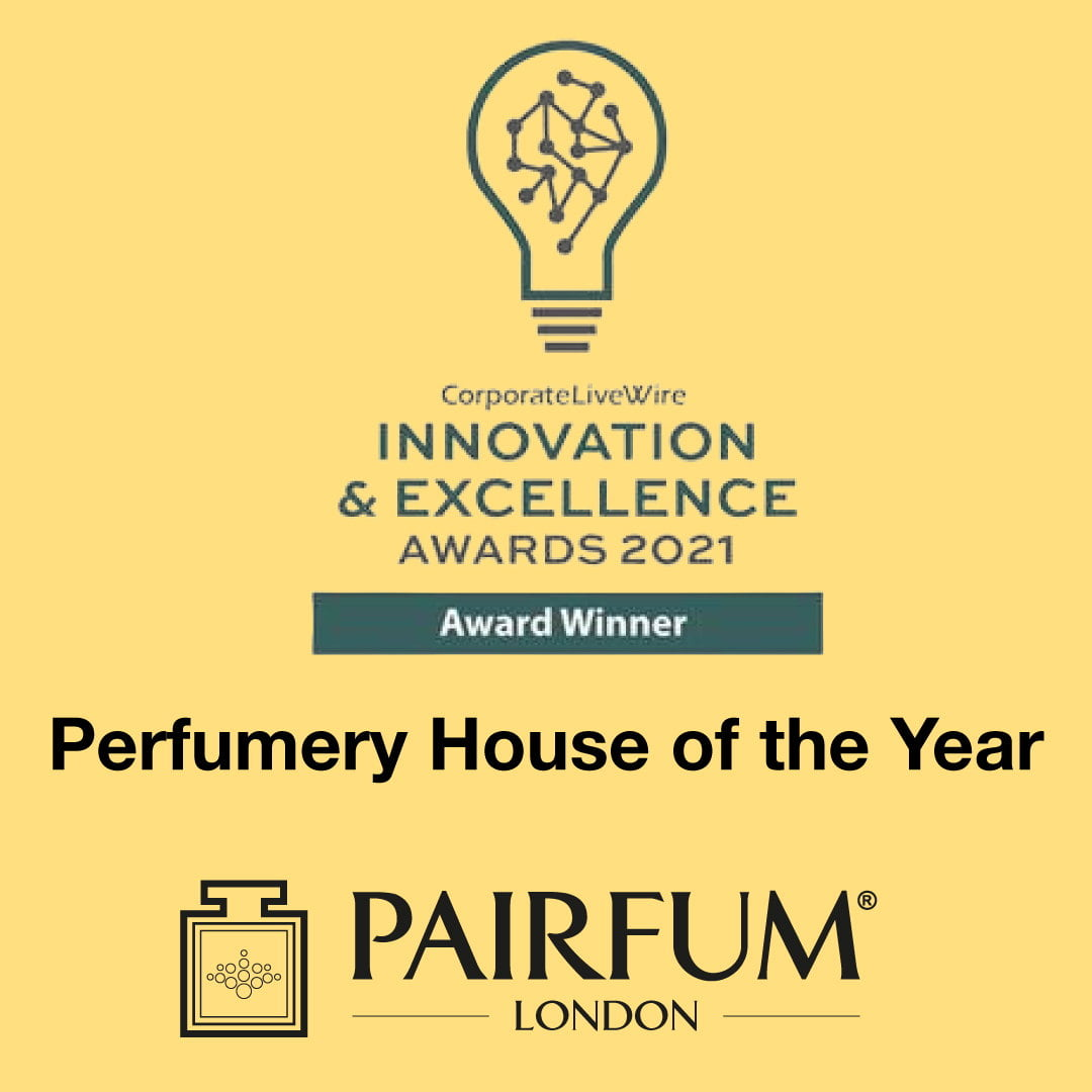 Innovation Excellence Awards 2021 Pairfum Perfumery House Year 1 1