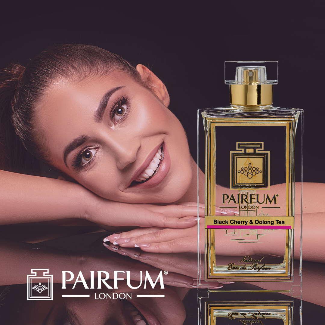 Pairfum Eau De Parfum Person Reflection Black Cherry Oolong Tea Woman Arms 1 1
