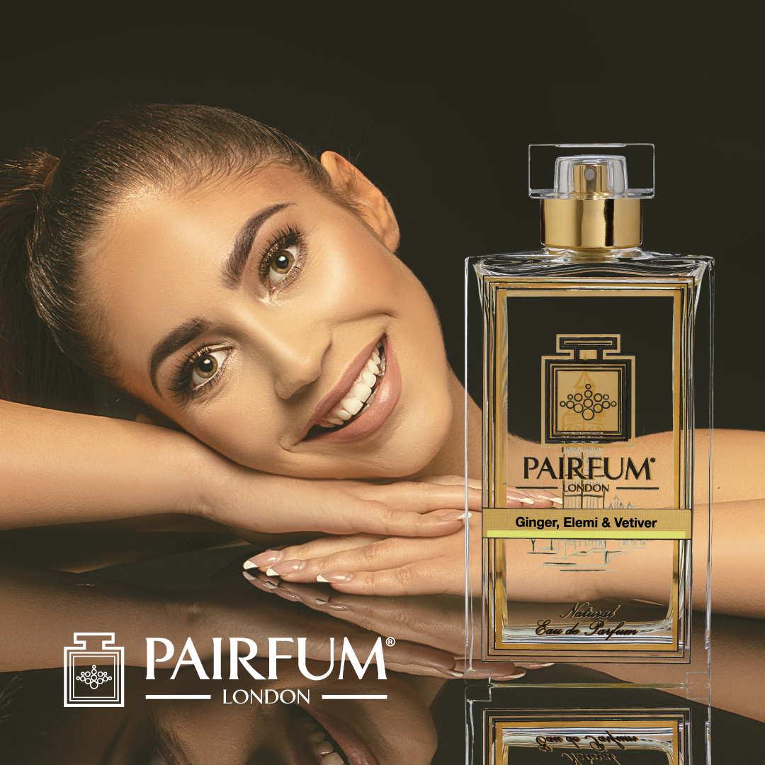 Pairfum Eau De Parfum Person Reflection Ginger Elemi Vetiver Woman Smile 1 1