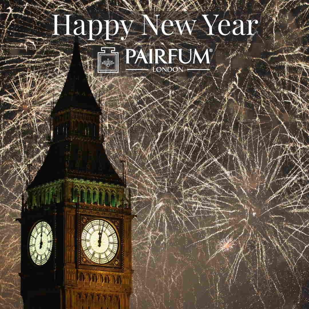 Pairfum London Big Ben Firework Happy New Year 1 1