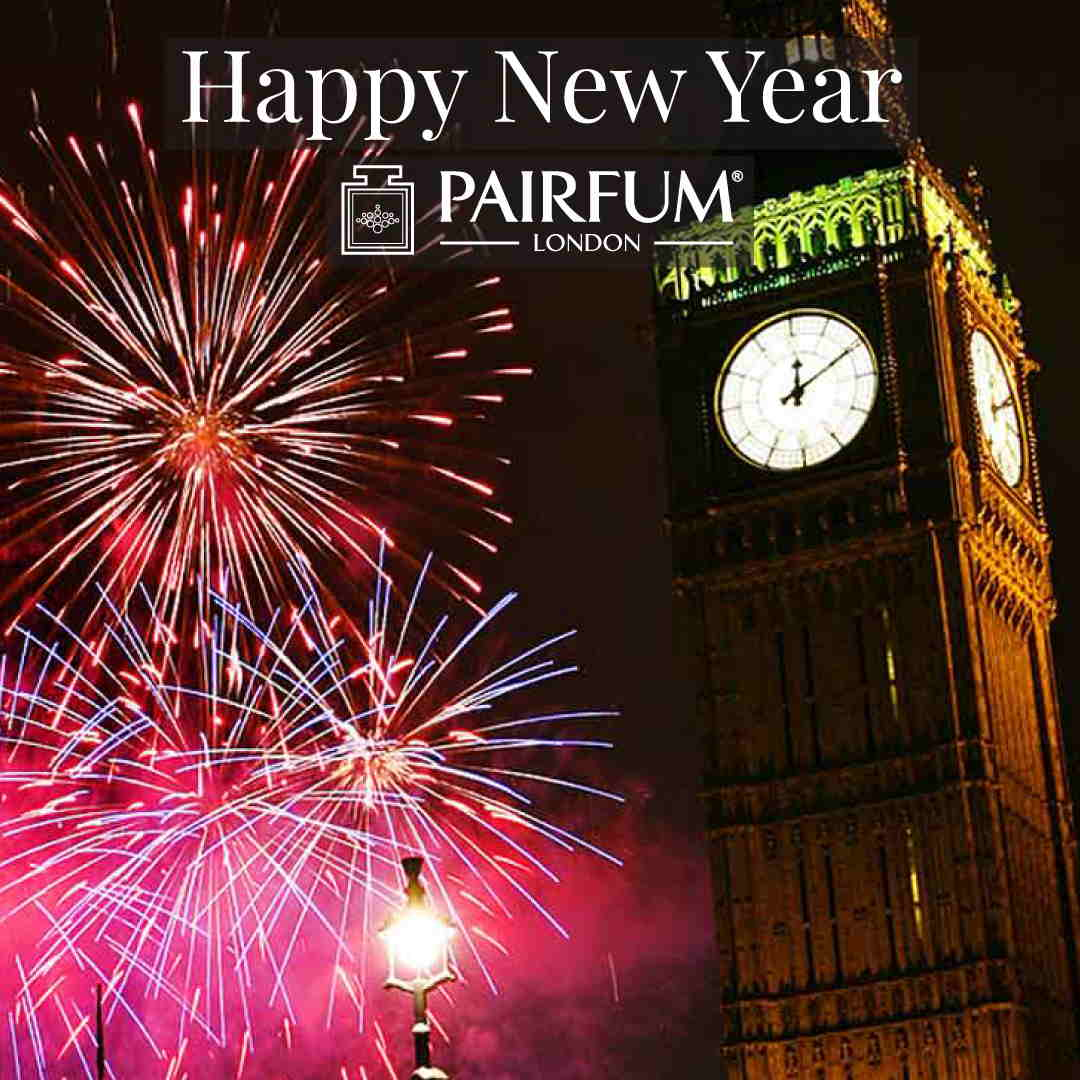 Pairfum London Firework Happy New Year Big Ben 1 1