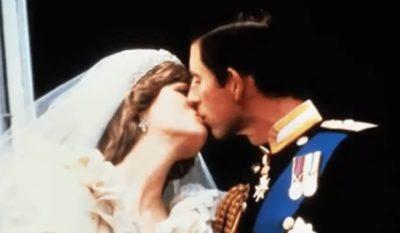 Princess Diana Prince Charles Kiss