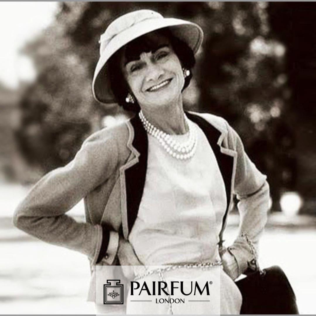Coco Chanel Posing