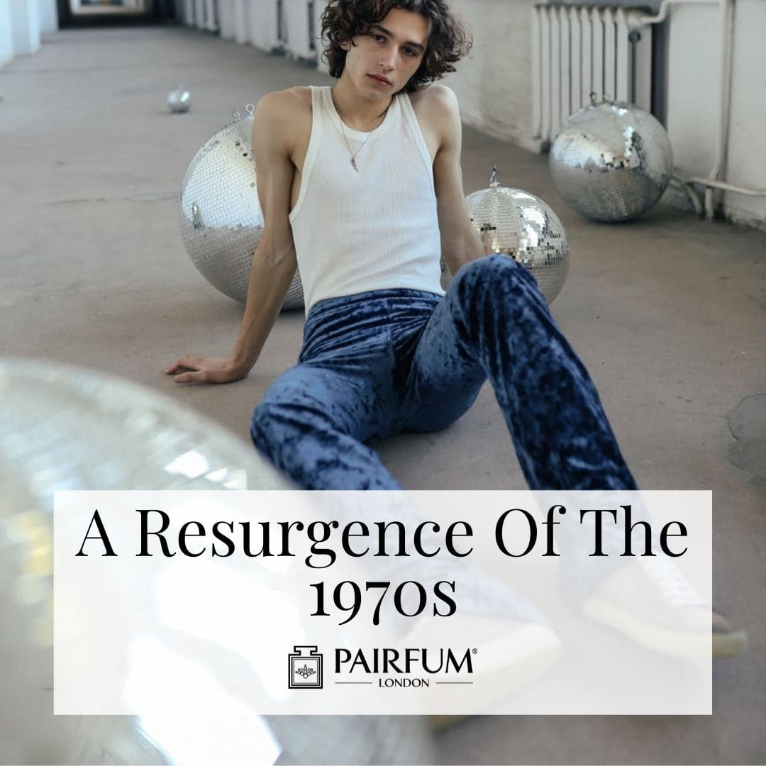 Person Posing In 70s Fashion