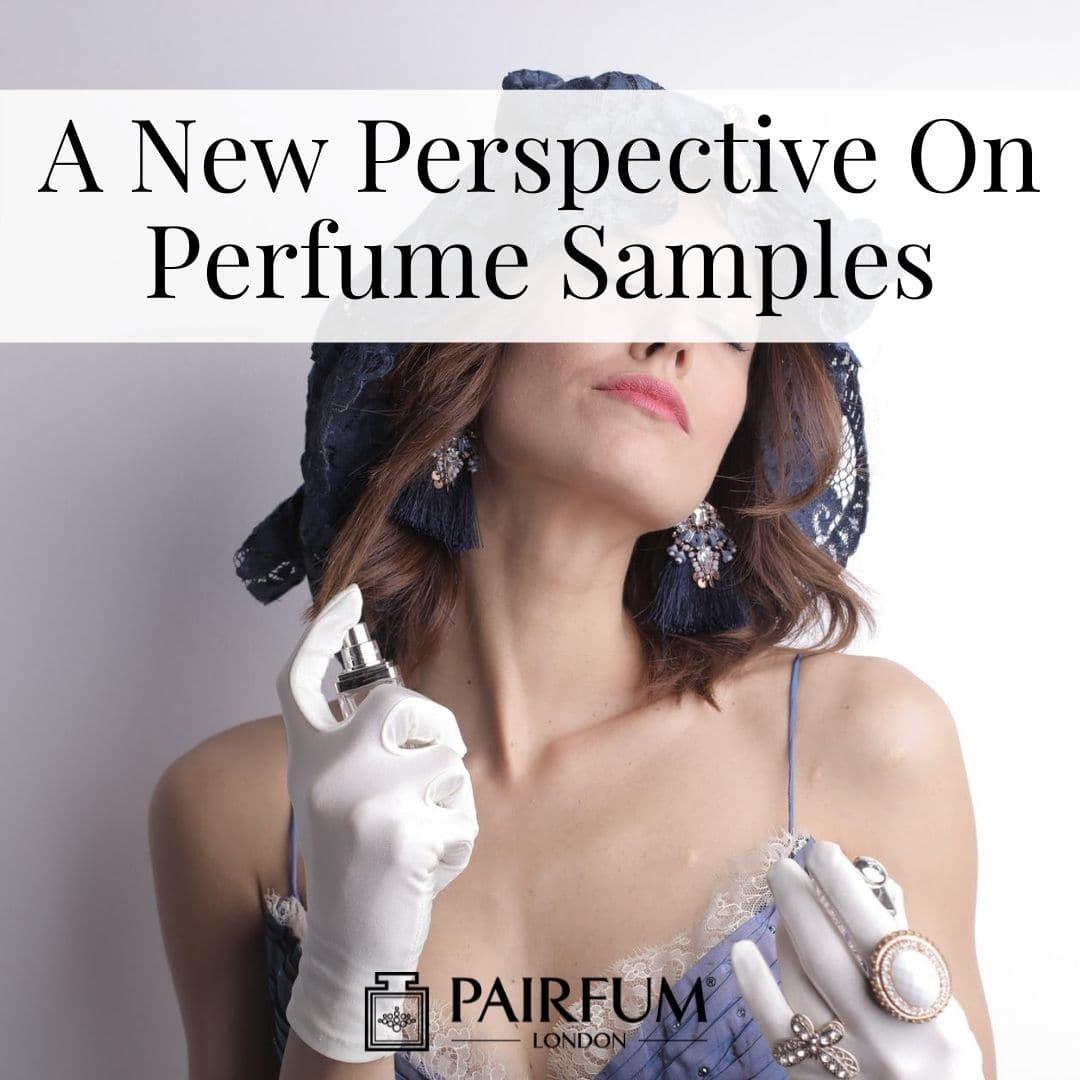 Woman Applying Sample Perfumes UK